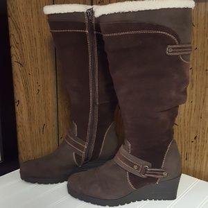 Earth Women's Ridge Leather Boots